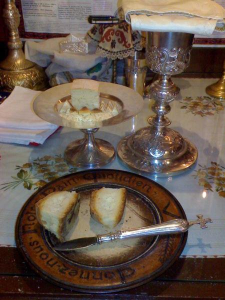 Obiectele liturgice folosite la Proscomidie